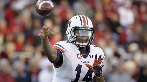 Auburn's Nick Marshall will have to pass effectively if the Tigers are to upset No. 1 Alabama. (Source: Todd Van Emst)
