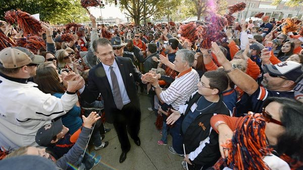 The good times could continue to roll for the Tigers in Auburn if they take out their rival Alabama. (Source: Todd Van Emst/ Auburn Athletics)