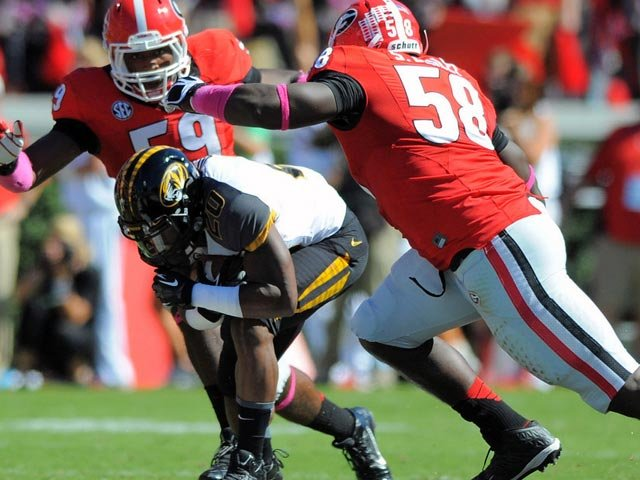 Once Henry Josey (20) and Missouri got past Georgia, they proved they were a force in the SEC and a contender for a national title. (Source: John Kelley/Georgia Athletics)