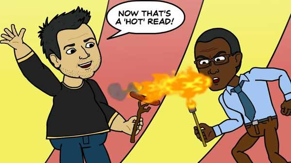 No one spews vitriol and venom like George Jones. (Source: Bitstrips/Facebook)
