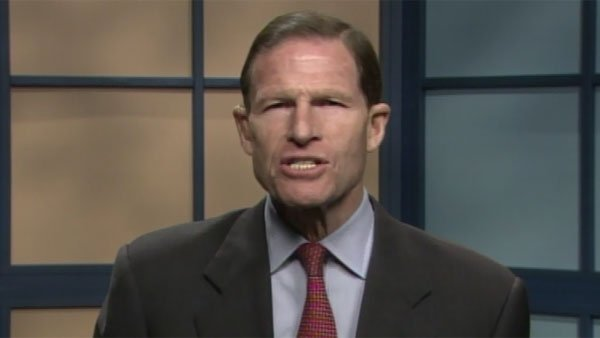 ©  U.S. Sen. Richard Blumenthal, D-CT, said that state law required the releasing of  tapes from last year's shooting.  (Source: CNN)