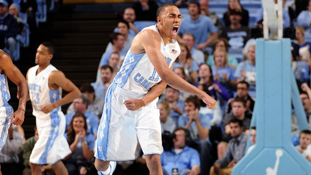 North Carolina's Brice Johnson helped the Tar Heels topple the No. 1-ranked Michigan State Spartans on Wednesday. (Source: Jeffrey A. Camarati/UNC Athletic Communications)