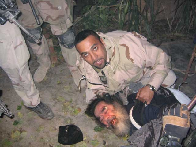 Saddam Hussein was captured Dec. 13, 2003. (Source: U.S. Army/Wikimedia Commons)
