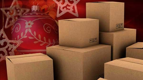After you pick the right gift, you have to make sure you get it shipped on time for Christmas. (Source: MGN Online)