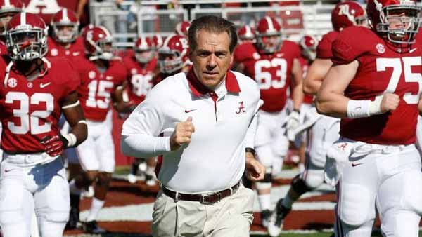 Nick Saban led Alabama to three national championships over the past four years. (Source: Alabama Athletics Communications)