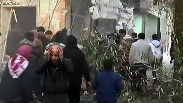 Bombs were dropped on Aleppo in rebel-held areas and on random buildings. (Source: CNN)