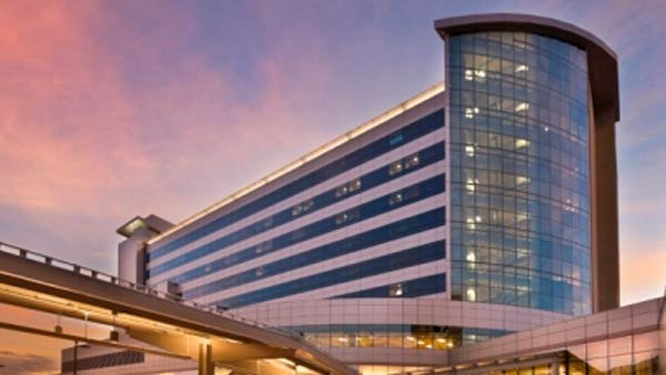 A gunman opened fire at the Renown Regional Medical Center in Reno, NV. (Source: University of Nevada Medical School)