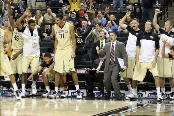 The Wake Forest Demon Deacons are celebrating a 10-2 start. (Source: WakeForestSports.com)