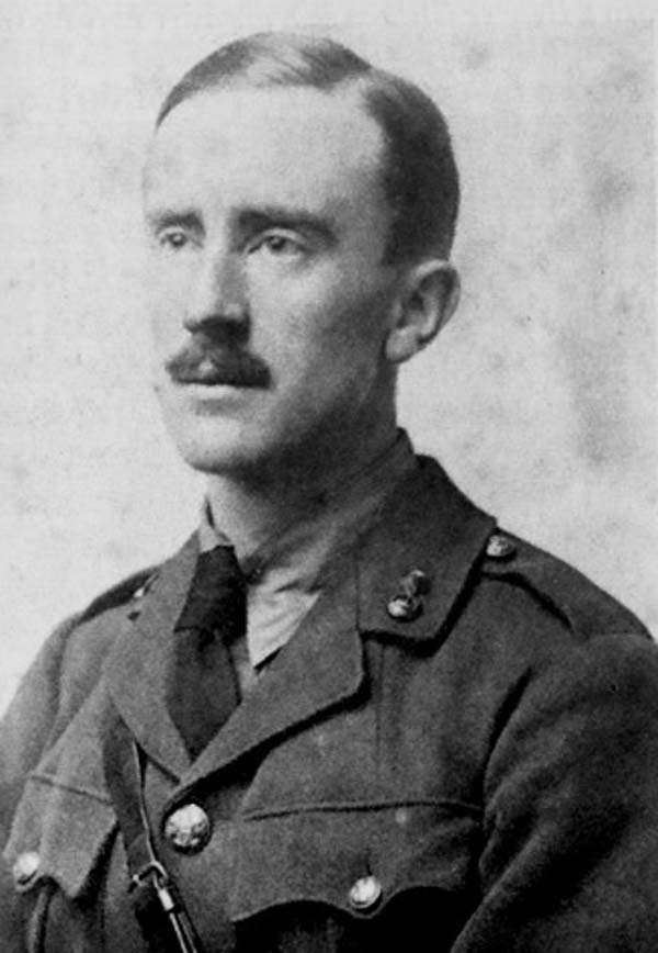 Author J.R.R Tolkien was born Jan. 3, 1892. (Source: Wikimedia Commons)