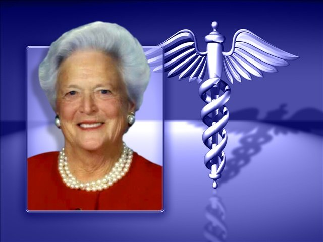 Barbara Bush is receiving care at a hospital in Texas for a respiratory issue. She is 88 years old.