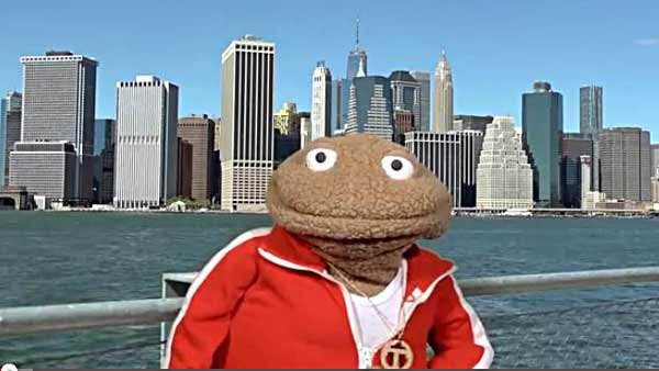 Visiting New York? Let Johnny T be your official tour guide. (Source: Glove and Boots/YouTube)