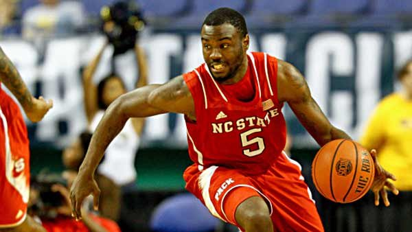 Desmond Lee scored 15 points last game and is an overlooked part of a trio that averages double figures for North Carolina State. (Source: Jack Tarr/NC State Athletic Communications)
