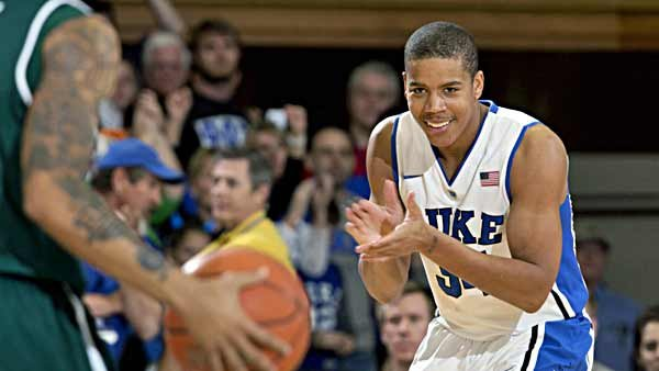 Andre Dawkins and the Blue Devils have a lot to smile about this season. (Source: Duke Photography/GoDuke.com)