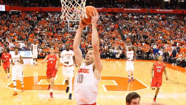 Trevor Cooney (10) is one of many reasons the Syracuse Orange is a perfect 13-0. (Source: Syracuse University Athletic Communications)