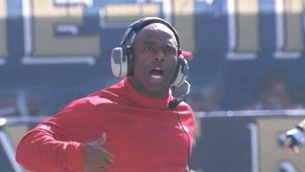Charlie Strong was 37-15 at Louisville. (Source: CNN)