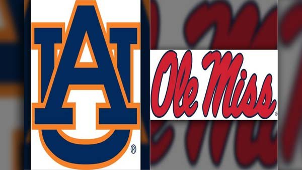 The Ole Miss Rebels will open their SEC schedule at home against the Auburn Tigers on Thursday.