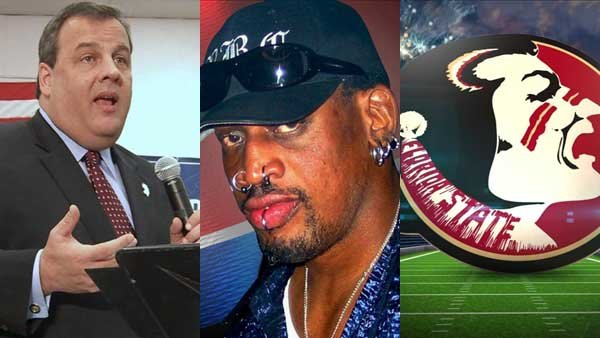 A scandal involving Chris Christie's staff, Dennis Rodman's trip to North Korea and Florida State's win in the BCS Championship all made headlines this week.