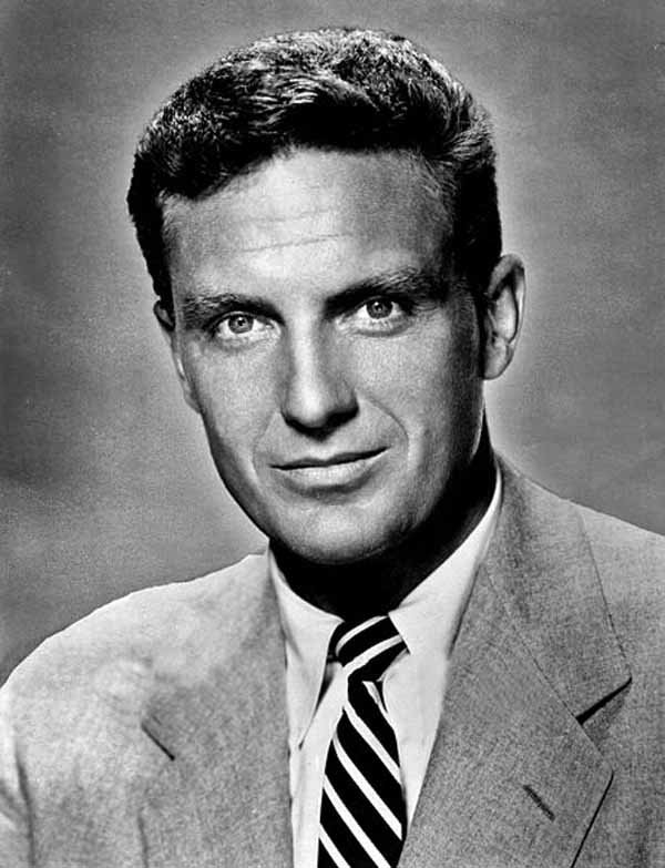 Robert Stack, shown here, was born Jan. 13, 1919. (Source: Wikimedia Commons)