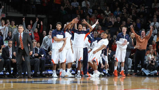 Virginia and its fans are celebrating a 3-0 start in the ACC. (Source: Matt Riley/VirginiaSports.com)