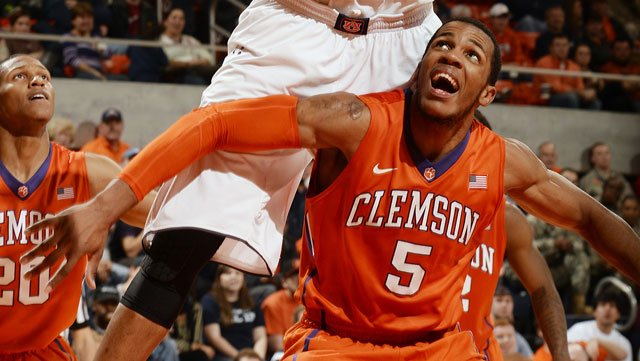 Clemson's Jaron Blossomgame had a breakout-style game Saturday at home against Duke. (Source: Todd Van Emst/Auburn Athletics)
