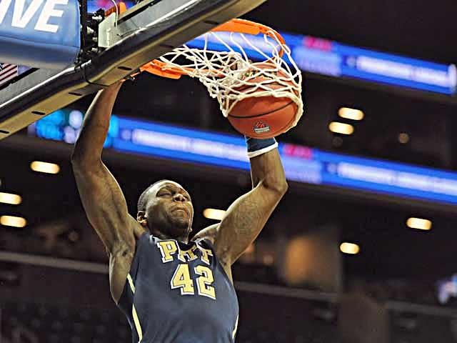 Talib Zanna and Pitt have a long road ahead of them, beginning with a stop at the Carrier Dome to play Syracuse. (Source: Pitt Athletic Communications)