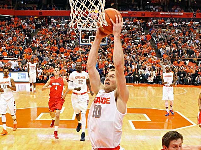 Trevor Cooney has helped the Orange fly high in their first season as members of the ACC. (Source: Syracuse University Athletic Communications)