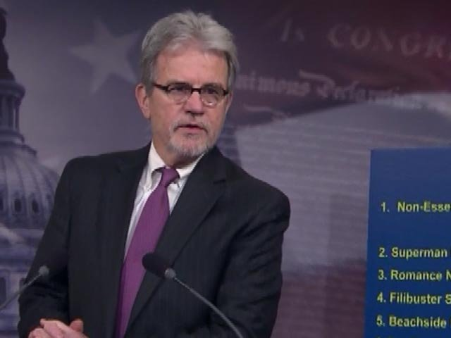 Sen. Coburn served in the House before being elected to the Senate. (Source: CNN)
