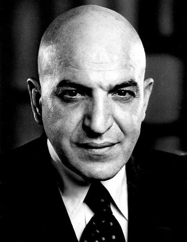 Telly Savalas was born Jan. 21, 1922, and died Jan, 22, 1994. (Source: Wikimedia Commons)