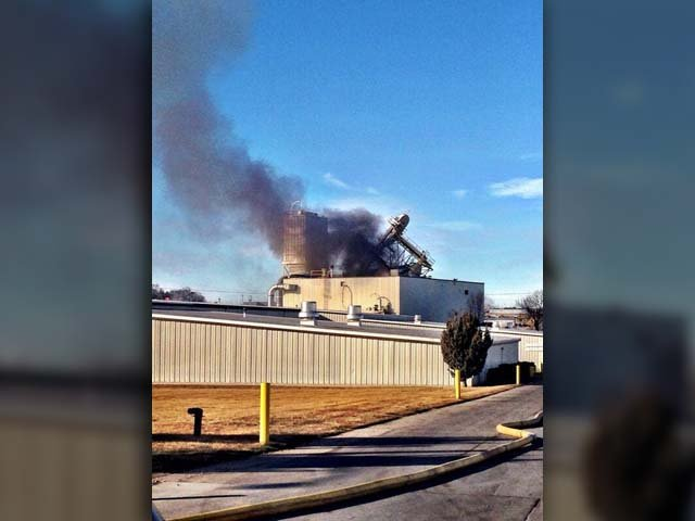 Ten people are injured after a plant explosion in Omaha, NE. (Source: Officer Mike Bossman/Omaha Police Department)