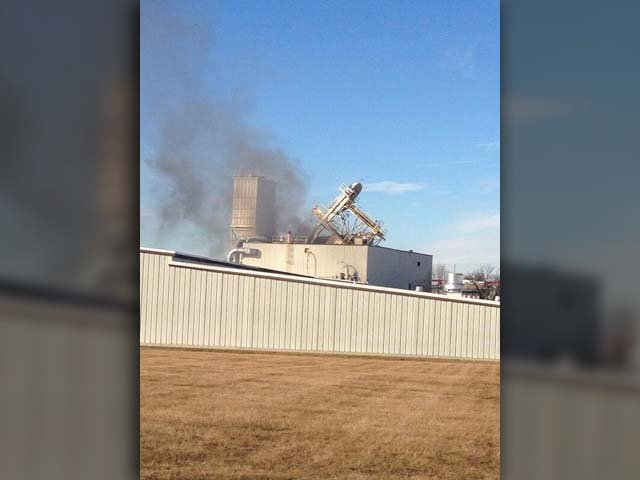 Two people died after a plant explosion in Omaha, NE. (Source: Officer Mike Bossman/Omaha Police Department)