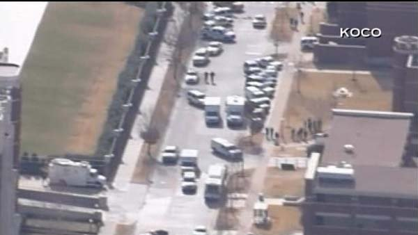 A shooting has been reported on the University of Oklahoma campus. (Source: KOCO/CNN)