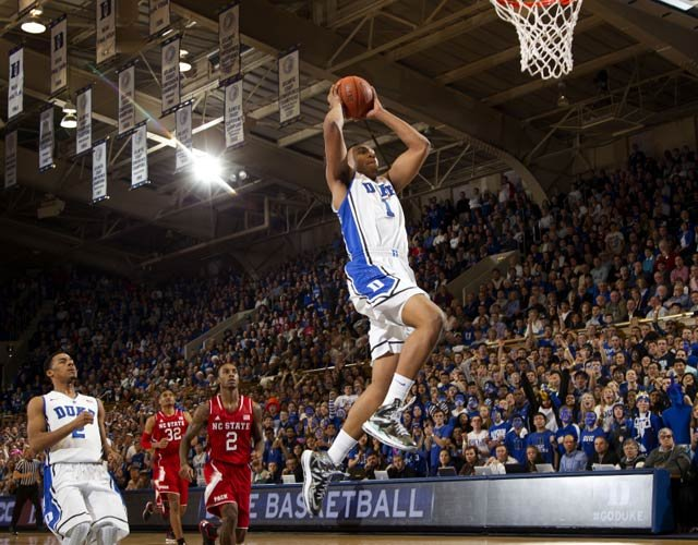 Jabari Parker was in top form during Duke's win Saturday over NC State. (Source: Duke Photography/GoDuke.com)