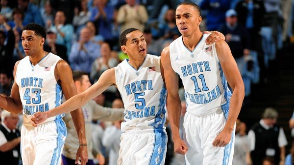 James Michael McAdoo (43), Marcus Paige (5) and Brice Johnson are UNC's top scorers this year, but they need a fourth person to step up and shoulder more of the load. (Source: North Carolina Athletic Communications)