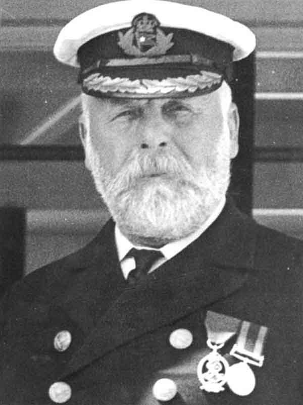 Edward Smith, who was captain of Titanic, was born Jan. 27, 1850. (Source: Wikimedia Commons)