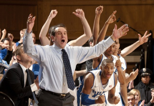 Mike Krzyzewski celebrated his 900th win as the coach at Duke on Saturday. (Source: Duke Photography/GoDuke.com)