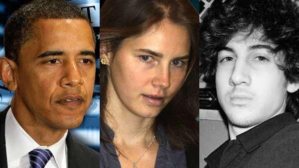 The State of the Union address, Amanda Knox's conviction and federal prosecutors seeking the death penalty against Dzhokhar Tsarnaev all made headlines this week.