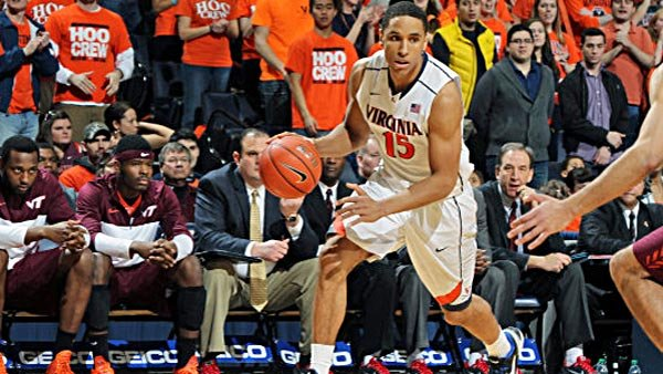 Malcolm Brogdon has been a quiet assassin for the Wahoos, putting up incredible individual numbers in conference play without fanfare. (Source: Matt Riley/VirginiaSports.com)