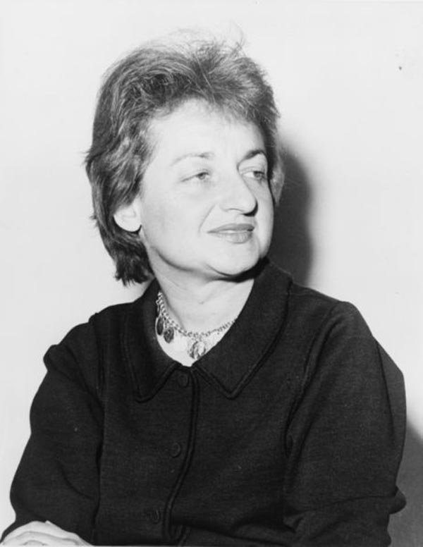Betty Friedan was born Feb. 4, 1921 and died Feb. 4, 2006. (Source: Library of Congress/Wikimedia Commons)