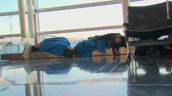 About 30 million fliers hit by cancellations, delays in January. (Source: CNN)
