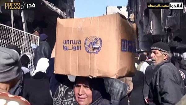 The U.N. World Food Program has limited access to the outskirts of Damascus. (Source: YouTube/CNN)
