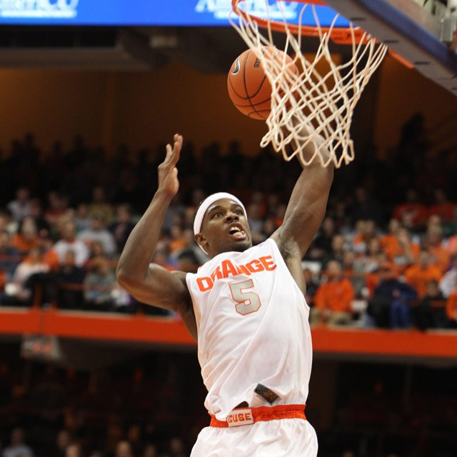C.J. Fair and the Syracuse Orange are 22-0 (9-0 ACC) and the No. 1-ranked team in the country. (Source: Syracuse University Athletic Communications)