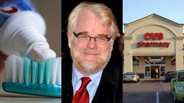 A new airline restriction, the latest on Philip Seymour Hoffman's death and CVS's plans to stop selling tobacco products all made headlines this week.