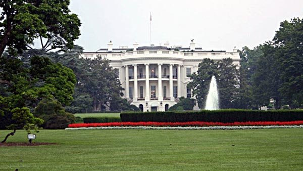 Someone who tried to jump the White House fence was taken into custody Friday. (Source: University of Illinois at Urbana-Champaign/MGN)