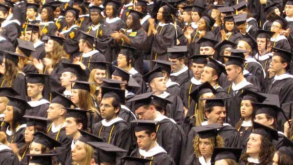 Watch out parents - your college graduate may be returning home. (Source: Wikicommons/MGN Online)