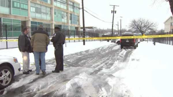 A man was found dead and partially covered with snow in Washington, DC. (Source: WJLA/CNN)