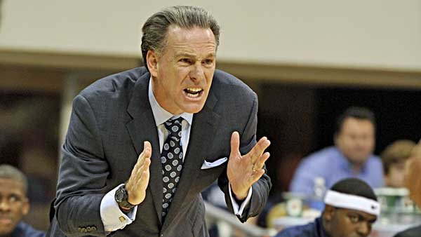 Jamie Dixon has had a lot of teachable moments this year with his team. (Source: Pitt Athletics Communications)