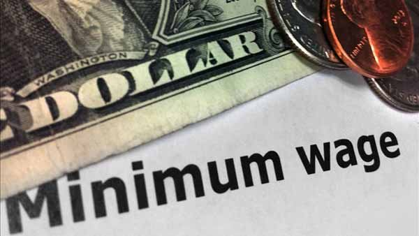 The Central Budget Office studied two proposals to raise the minimum wage to $10.10 and $9. (Source: MGN)