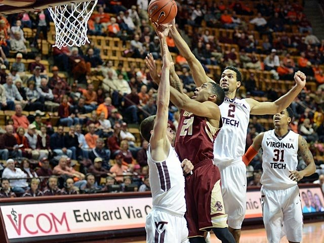 Boston College and Virginia Tech have a few things in common, but knocking off top-ranked opponents is not one of them. (Source: HokieSports.com)