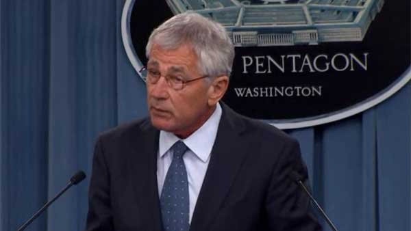 Secretary of Defense Chuck Hagel announced major cuts to the military Monday. (Source: CNN)