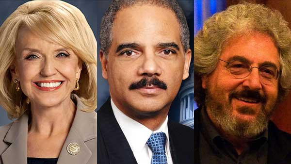 "Gov. Jan Brewer's veto of the ""religious freedom"" bill, the attorney general being rushed to the hospital and the death of a famous actor and director all made headlines this week."
